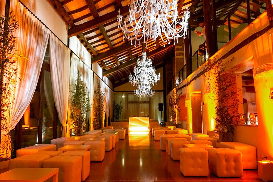 Illuminazione eventi palladio eventi