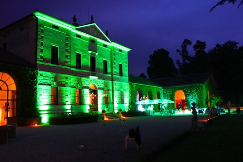 Illuminazione ville per matrimonio vicenza palladio eventi
